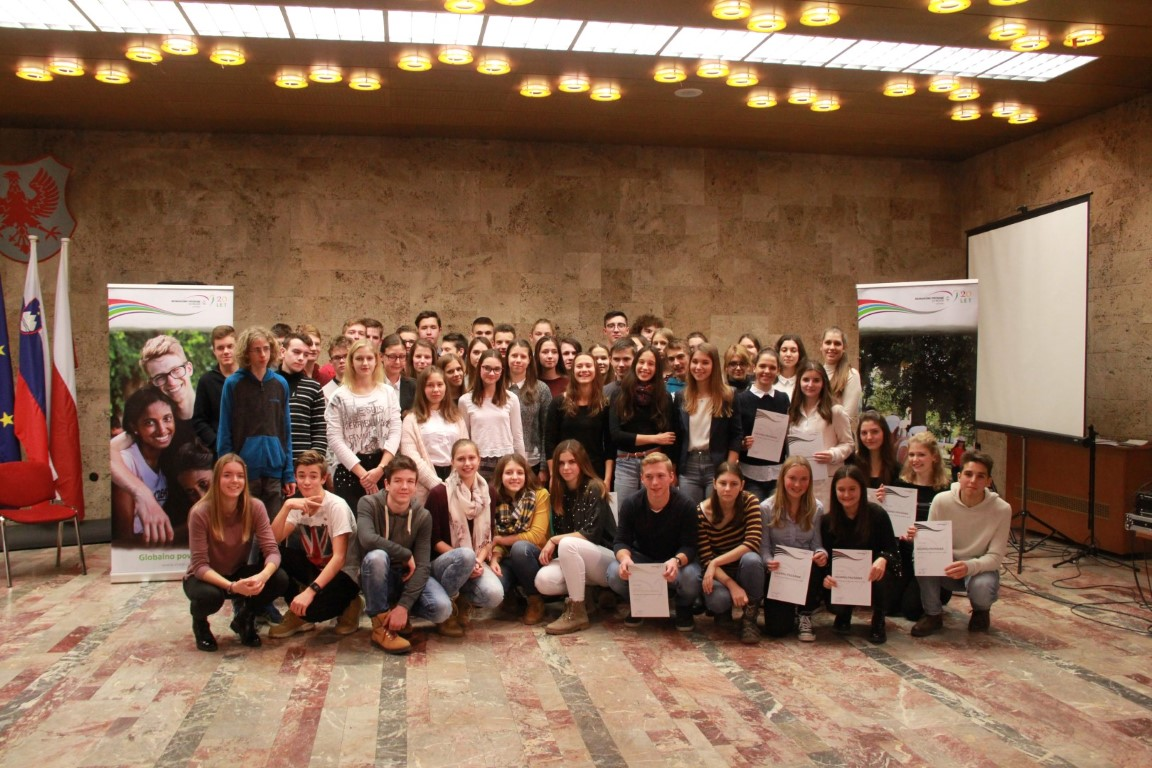 Lokalna podelitev priznanj v Kranju – november 2017