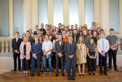 Sprejem zlatnikov pri predsedniku Republike Slovenije