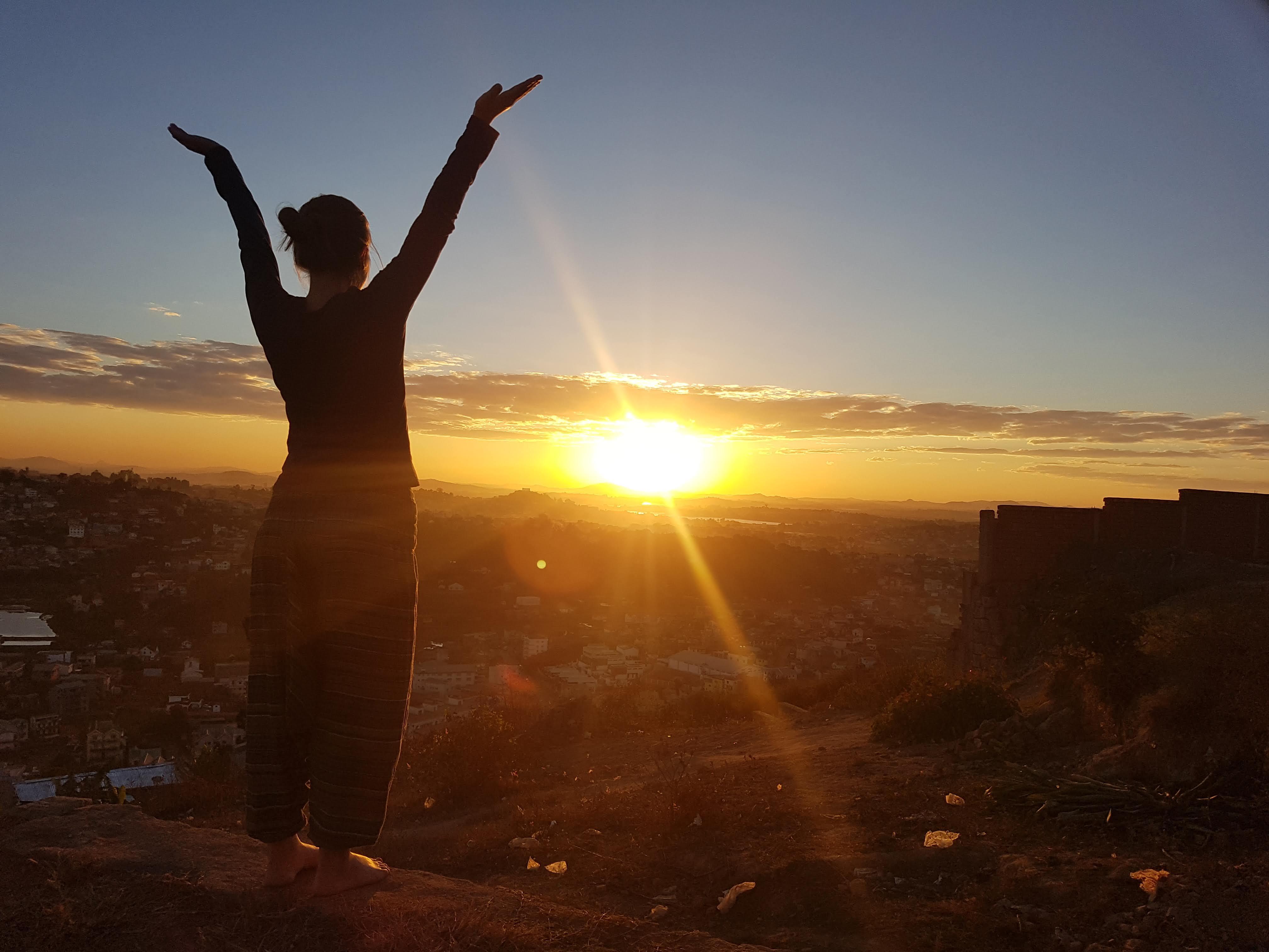 V življenju rada sprejemam nove izzive ter priložnosti