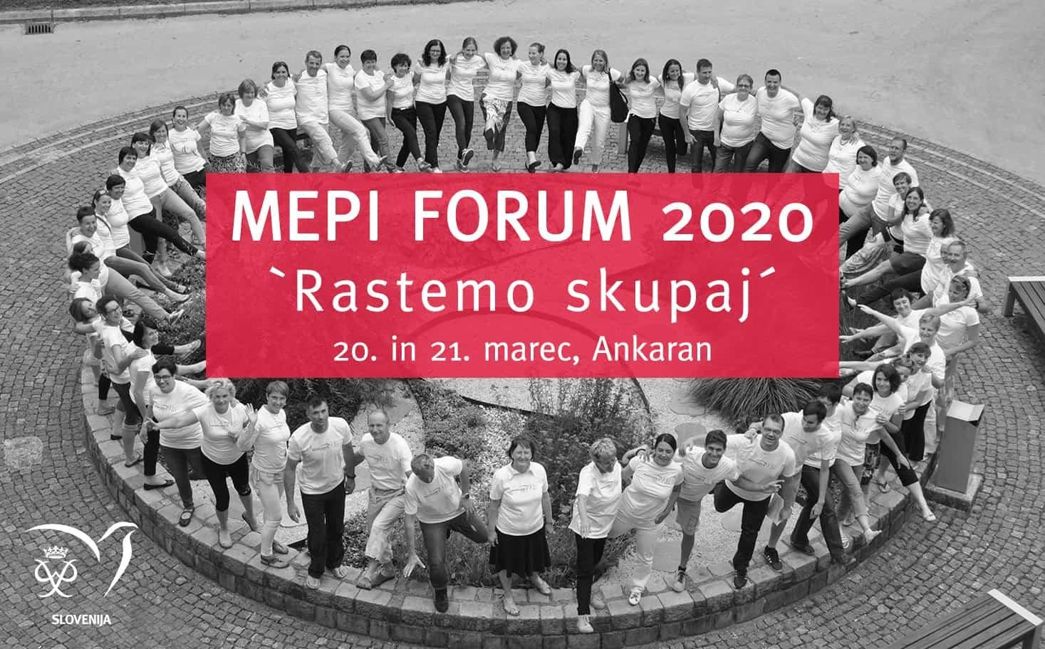 MEPI forum 2020: »Rastemo skupaj«