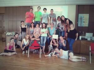 Skupinska slika udeležencev 2. delavnica projekta Lažje zaposljiv.si